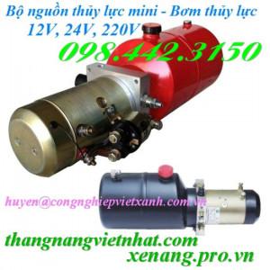 Bộ nguồn thủy lực mini 12V – 24V – 220V