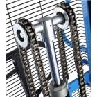 Xe nâng điện bán tự động chân rộng 1,5 tấn GamLift S15W