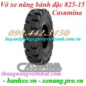 Vỏ xe nâng Casumina 825-15 bánh đặc