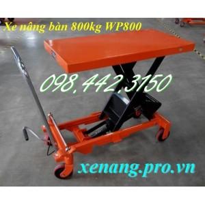 Xe nâng bàn 800kg WP800