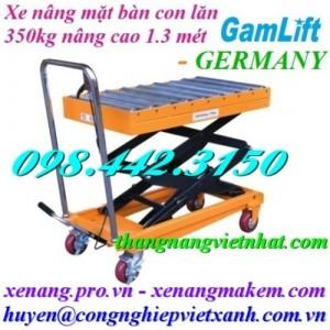 Xe nâng mặt bàn con lăn Gamlift TAL35