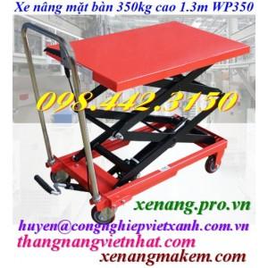 Xe nâng bàn 350kg WP350