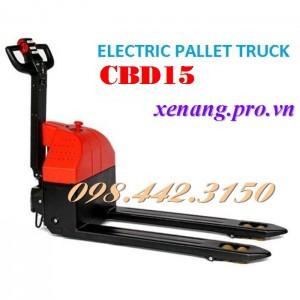 Xe nâng điện thấp 1500kg CBD15