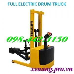 Xe nâng quay đổ phuy điện FDP3514 (nâng điện, quay điện, lái điện đi bộ)