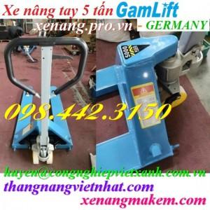 Xe nâng tay 5000kg Gamlift M50M