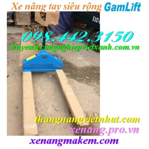 Xe nâng tay siêu rộng 840mm GAMLIFT M840
